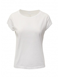 T shirt donna online: European Culture t-shirt bianca in cotone