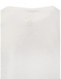 European Culture white cotton t-shirt price