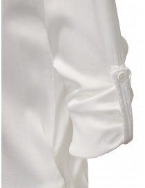 European Culture white shirt with rolled up sleeves price
