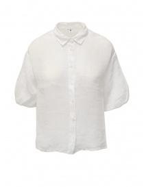 European Culture white half sleeve shirt online