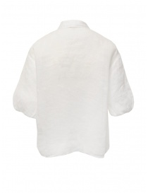 European Culture white half sleeve shirt