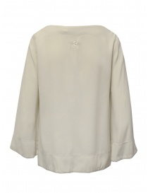European Culture bell sleeve blouse in light beige