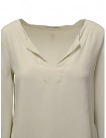 European Culture bell sleeve blouse in light beige price