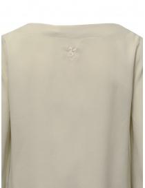 European Culture bell sleeve blouse in light beige womens t shirts buy online