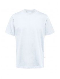 Selected Homme white organic cotton t-shirt online