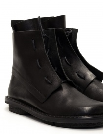 Trippen Solid black ankle boots womens shoes price