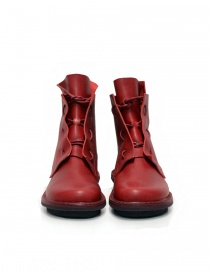 Trippen Solid red ankle boots womens shoes buy online