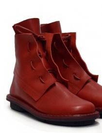 Stivaletto Trippen Solid rosso calzature donna prezzo