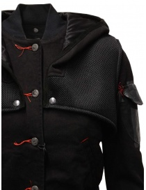 D.D.P. 2 in 1 black bomber jacket with detachable hood price