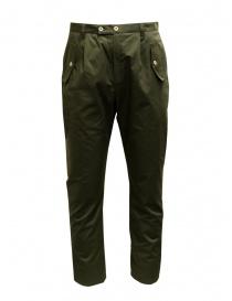 Camo Tyson pantaloni verdi con tasche militari frontali online