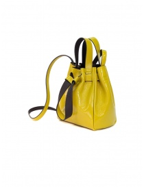 D'Ottavio yellow bucket in patent leather