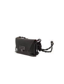 D'Ottavio Dot Line mini shoulder bag in black leather