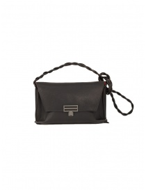 D'Ottavio Dot Line D08 black shoulder clutch bag online