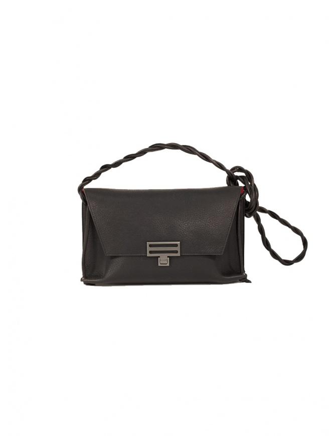 D'Ottavio Dot Line D08 black shoulder clutch bag D08CR999SU300 bags online shopping