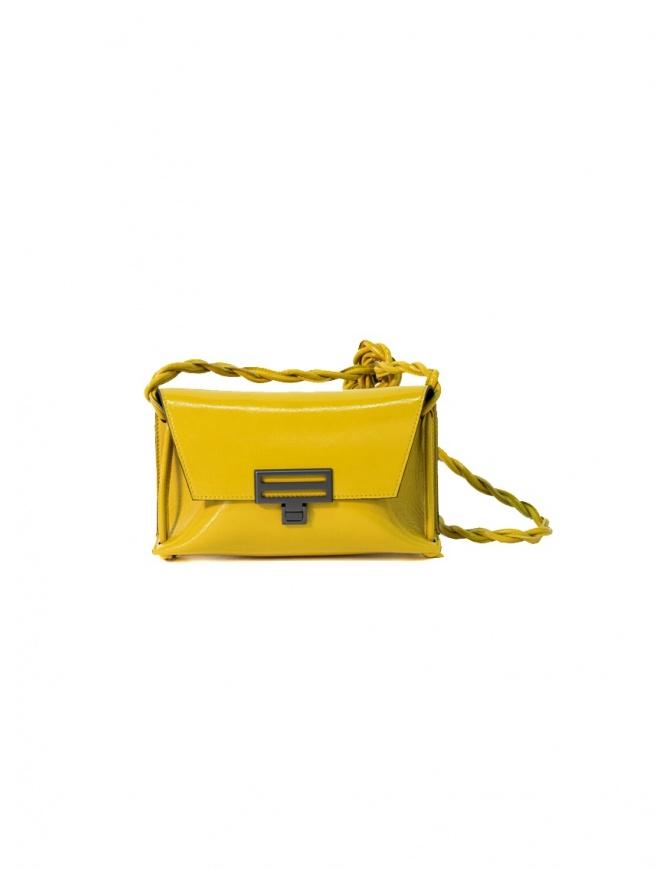 D'Ottavio Dot Line D08JR bag junior yellow shoulder clutch D08JRNK201VO600 bags online shopping