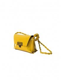 D'Ottavio Dot Line D08JR bag junior yellow shoulder clutch price