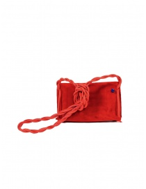 D'Ottavio Dot Line D08JR mini red shoulder bag in suede price