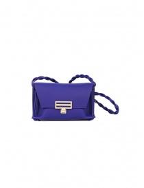D'Ottavio Dot Line borsa Jr mini clutch blu a tracolla D08JRVO601SU301 order online