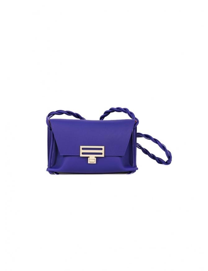 D'Ottavio Dot Line borsa Jr mini clutch blu a tracolla D08JRVO601SU301 borse online shopping
