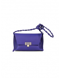 D'Ottavio D08 Dot Line purple shoulder clutch bag online