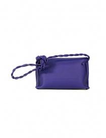 D'Ottavio D08 Dot Line purple shoulder clutch bag price