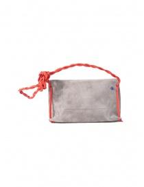D'Ottavio D08 grey Dot Line shoulder bag in suede price