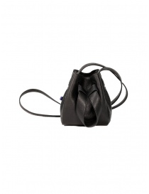 Bags online: D'Ottavio DOT Line mini bucket in black leather
