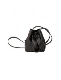 Borse online: D'Ottavio DOT Line mini secchiello in pelle nera