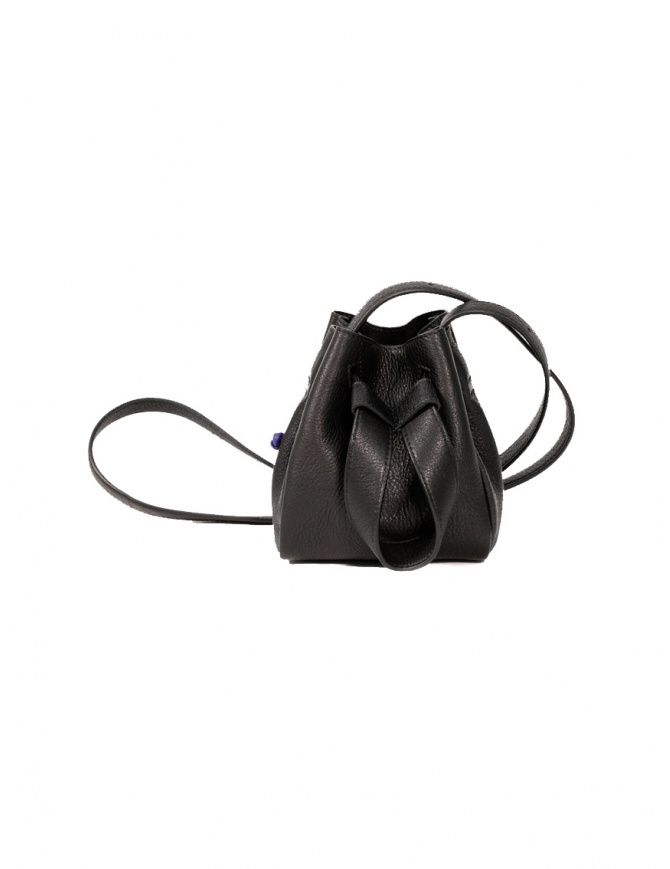 D'Ottavio DOT Line mini bucket in black leather D29JRCR999SU999 bags online shopping
