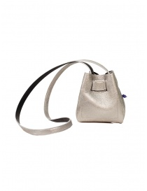 D'Ottavio DOT Line mini bucket in silver leather price