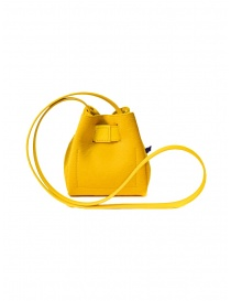 D'Ottavio DOT Line mini yellow bucket bag in pony hair price