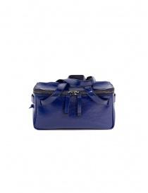 Borse online: D'Ottavio D70JR mini borsa baule in pelle blu