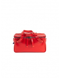 D'Ottavio red duffle bag D70JR in shiny leather
