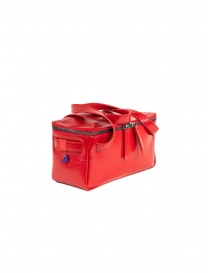 Bags online: D'Ottavio red duffle bag D70JR in shiny leather