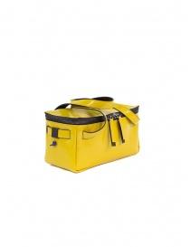 D'Ottavio D70JR mini duffle bag in yellow leather online