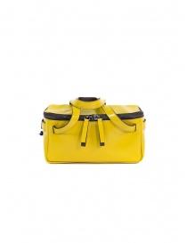 D'Ottavio D70JR mini duffle bag in yellow leather