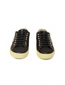 Leather Crown LC148 Studlight black sneakers with studs mens shoes buy online