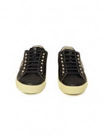 Leather Crown LC148 Studlight sneakers nere con borchie calzature uomo acquista online