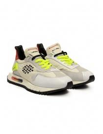 BePositive Space Run sneakers bianche e giallo fluo online