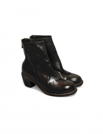 Womens shoes online: Guidi 4006 leather ankle boots