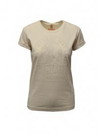 Parajumpers Unique T-shirt bianca con stampa PJS online
