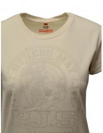 Parajumpers Unique T-shirt bianca con stampa PJS prezzo