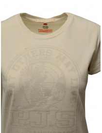 Parajumpers Unique white T-shirt with PJS print price