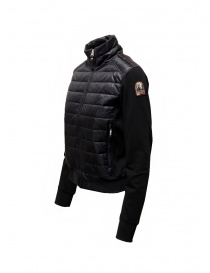Parajumpers Rosy bomber jacket in black fleece and down jacket