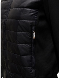 Parajumpers Rosy bomber jacket in black fleece and down jacket womens jackets price