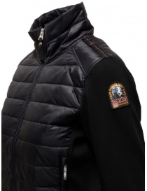 Parajumpers Rosy bomber jacket in black fleece and down jacket buy online price