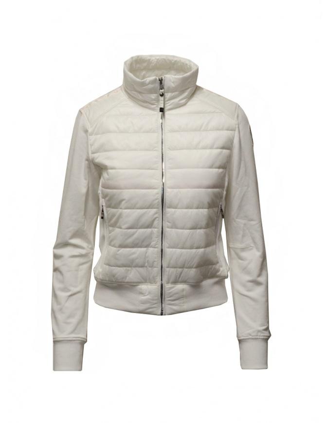 Parajumpers Rosy giacca bomber bianca in felpa e piumino PWFLEFP32 ROSY WHT CREAM giubbini donna online shopping