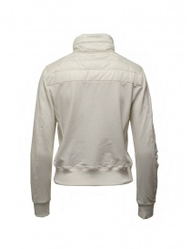 Parajumpers Rosy white bomber jacket in fleece and quilt price