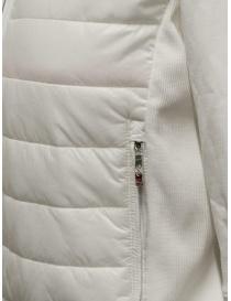 Parajumpers Rosy giacca bomber bianca in felpa e piumino giubbini donna prezzo