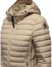 Parajumpers Juliet extra light ecru down jacket womens jackets buy online